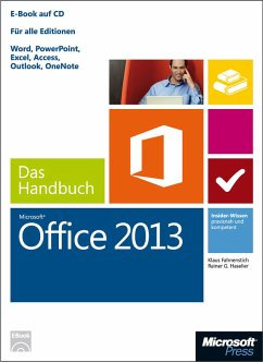 Microsoft Office 2013 - Das Handbuch (eBook, PDF) - Fahnenstich, Klaus; Haselier, Rainer G.