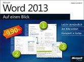 Microsoft Word 2013 auf einen Blick (eBook, PDF)