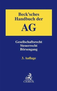 Beck´sches Handbuch der AG