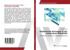 Diakonische Konzepte in der stationären Altenhilfe - Deutmeyer, Frank