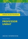 Professor Unrat von Heinrich Mann