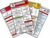 Rettungsdienst Karten-Set - EKG, Herzrhythmusstörungen, Notfallmedikamente, Reanimation