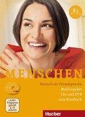 Medienpaket, 3 Audio-CDs + 1 DVD (zum Kursbuch) / Menschen - Deutsch als Fremdsprache Bd.B1
