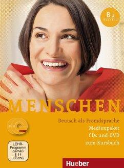 Medienpaket, 3 Audio-CDs + 1 DVD (zum Kursbuch) / Menschen - Deutsch als Fremdsprache Bd.B1 - Braun-Podeschwa, Julia; Habersack, Charlotte; Pude, Angela