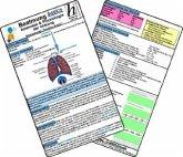 Beatmung basics - Anatomie & Physiologie der Atmung, Medizinische Taschen-Karte