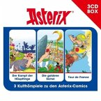 Asterix, Hörspielbox, 3 Audio-CDs