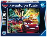 Ravensburger 10520 - Disney: Cars Neon, Puzzle, 100 Teile