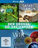 Der große 3D-Dreierpack - Collection 2 (Blu-ray 3D, 3 Discs)