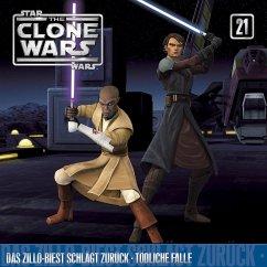 Star Wars, The Clone Wars - Das Zillo-Biest schlägt zurück/ Tödliche Falle, 1 Audio-CD