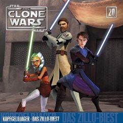 Star Wars, The Clone Wars - Kopfgeldjäger / Das Zillo-Biest, 1 Audio-CD