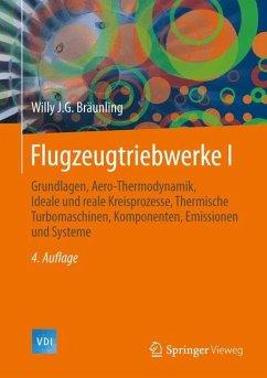 Flugzeugtriebwerke - Bräunling, Willy J. G.