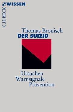 Der Suizid - Bronisch, Thomas