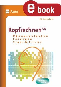 Kopfrechnen 5-6 (eBook, PDF) - Königsdorfer, Elke