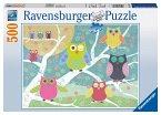 Ravensburger Puzzle Puzzle Bunte Nachteulen