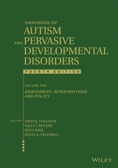 Handbook of Autism and Pervasive Developmental Disorders, Volume 2, Assessment, Interventions, and Policy (eBook, PDF) - Rogers, Sally J.; Volkmar, Fred R.; Paul, Rhea; Pelphrey, Kevin A.