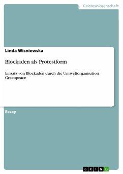 Blockaden als Protestform (eBook, PDF)