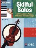 Skilful Solos, für Violin und Klavier, m. Audio-CD