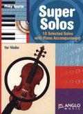 Super Solos, für Violine und Klavier, m. Audio-CD