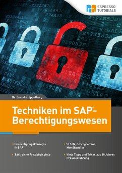 Techniken im SAP- Berechtigungswesen