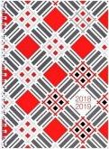Lehrerkalender: A4 Planer 2017/2018 mit Spiralbindung