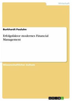 Erfolgsfaktor modernes Financial Management