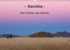Namibia - Die Farben der Namib (Wandkalender immerwährend DIN A3 quer)