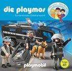 Sondereinsatz Geldtransport / Die Playmos Bd.41 (1 Audio-CD)