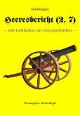 Heeresbericht (2. Teil, 7. Kap.) (eBook, ePUB)