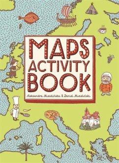 Maps Activity Book - Mizielinski, Aleksandra and Daniel