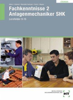 Fachkenntnisse 2 Anlagenmechaniker SHK, Lösungen