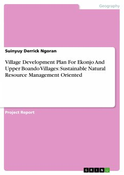Village Development Plan For Ekonjo And Upper Boando Villages: Sustainable Natural Resource Management Oriented
