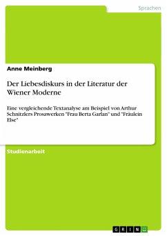 Der Liebesdiskurs in der Literatur der Wiener Moderne