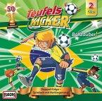 Ballzauber! / Teufelskicker Hörspiel Bd.50, 2 Audio-CDs