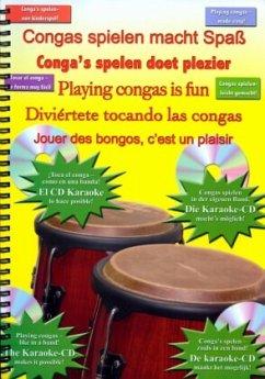 Conga spielen macht Spaß, m. 1 Audio-CD