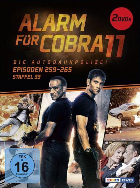 Alarm für Cobra 11 - Staffel 33 2 Discs
