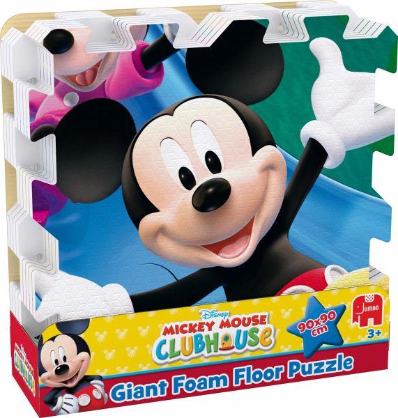 jumbo 17403 disney mickey mouse clubhouse mega gro es bodenpuzzle 9 teile. Black Bedroom Furniture Sets. Home Design Ideas