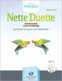Nette Duette, für Sopran- und Altblockflöte, m. Audio-CD