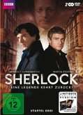 Sherlock - Staffel 3 - Special Edition mit Poster (2 DVDs)