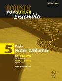 Hotel California, arrangiert für 4 Gitarren, Partitur & Stimmen