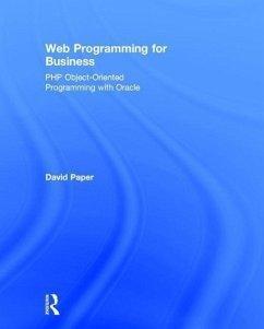 Web Programming for Business: PHP Object-Oriented Programming with Oracle - Paper, David