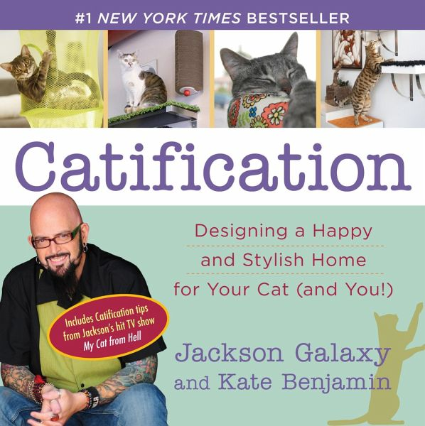 Catification von jackson galaxy kate benjamin for Jackson galaxy cat products