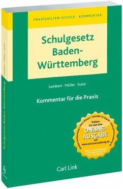 Schulgesetz Baden-Württemberg - Lambert, Johannes