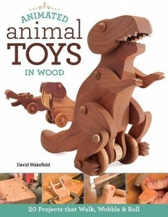Animated Animal Toys in Wood: 20 Projects That ...