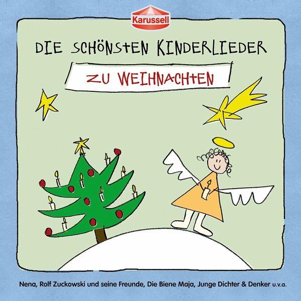 die sch nsten kinderlieder zu weihnachten auf audio cd. Black Bedroom Furniture Sets. Home Design Ideas