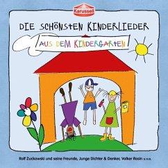 Die schönsten Kinderlieder - Aus dem Kindergarten, 1 Audio-CD