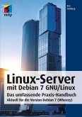 Linux-Server mit Debian 7 GNU/Linux (eBook, PDF)