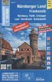 Topographische Karte Bayern Nürnberger Land, Frankenalb