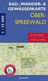 Rad-, Wander- & Gewässerkarte Oberspreewald