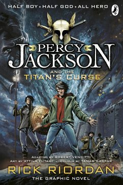 Percy Jackson and the Titan's Curse: The Graphic Novel - Riordan, Rick