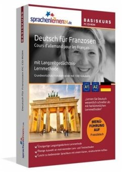 Deutsch für Franzosen Basiskurs, PC CD-ROM
